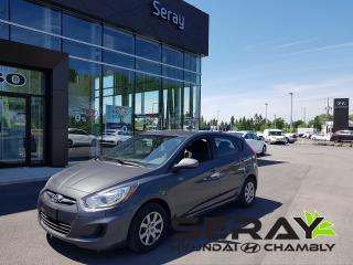 Used 2012 Hyundai Accent L, En Préparation for sale in Chambly, QC