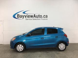 Used 2015 Mitsubishi Mirage ES - 5SPD! A/C! BLUETOOTH! PWR GROUP! for sale in Belleville, ON