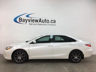 Used 2017 Toyota Camry XSE - NAV! HTD LHR TRIM! SUNROOF! ALLOYS! + MORE! for sale in Belleville, ON