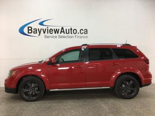 Used 2018 Dodge Journey Crossroad - 1/2 LEATHER! NAV! SUNROOF! DVD! 7 PASS! for sale in Belleville, ON