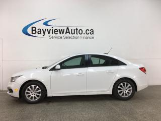 Used 2016 Chevrolet Cruze Limited 1LT - AUTO! ONSTAR! SUNROOF! PIONEER SOUND! ALLOYS! + MORE! for sale in Belleville, ON