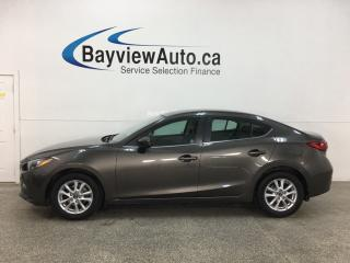 Used 2016 Mazda MAZDA3 GS - AUTO! ALLOYS! PWR GROUP! for sale in Belleville, ON
