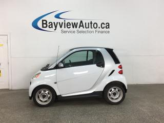 Used 2013 Smart fortwo Pure - AUTO! BLUETOOTH! A/C! 41,100KMS! for sale in Belleville, ON