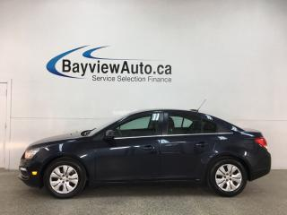 Used 2015 Chevrolet Cruze 1LT - AUTO! A/C! PWR GROUP! CRUISE! BLUETOOTH! + MORE! for sale in Belleville, ON