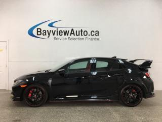 Used 2018 Honda Civic Type R - 6SPD! RECARO SEATS! BREMBRO BRAKES! NAV! 8200KMS! for sale in Belleville, ON