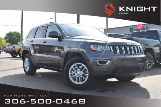 Used 2019 Jeep Grand Cherokee Laredo E | Heated Seats & Steering Wheel | Remote Start | for sale in Swift Current, SK
