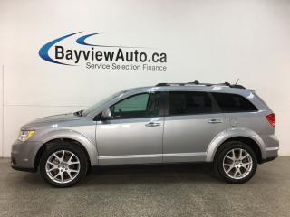 Used 2018 Dodge Journey GT - AWD! HTD LEATHER! NAV! SUNROOF! DVD! for sale in Belleville, ON