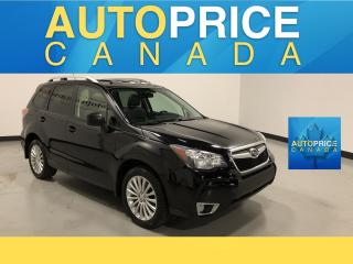 Used 2014 Subaru Forester 2.0XT Touring PANOROOF LEATHER HEATED SEATS for sale in Mississauga, ON