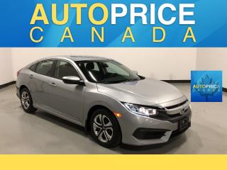 Used 2017 Honda Civic LX REAR CAM|BLUETOOTH|HEATEDB SEAT for sale in Mississauga, ON