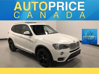 Used 2017 BMW X3 xDrive28i NAVIGATION|PANOROOF|REAR CAM for sale in Mississauga, ON