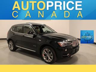 Used 2016 BMW X3 xDrive28i NAVI|HEADS UP DISPLAY|PANOROOF for sale in Mississauga, ON