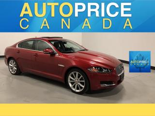 Used 2015 Jaguar XF Luxury NAVIGATION|AWD|REAR CAM|LEATHER for sale in Mississauga, ON