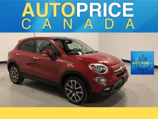 Used 2017 Fiat 500 X Trekking PANOROOF|REAR CAM|BLUETOOTH for sale in Mississauga, ON