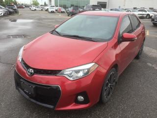 Used 2014 Toyota Corolla S for sale in Brampton, ON