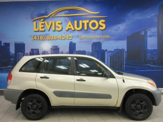 Used 2001 Toyota RAV4 4X4 5 VITESSE for sale in Lévis, QC