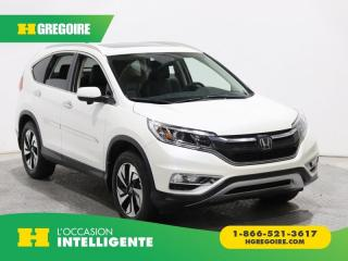 Used 2015 Honda CR-V Touring Awd Cuir for sale in St-Léonard, QC
