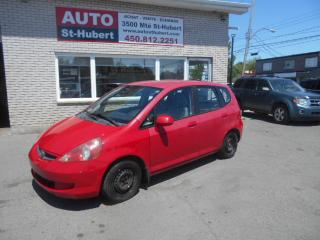 Used 2007 Honda Fit LX for sale in St-Hubert, QC