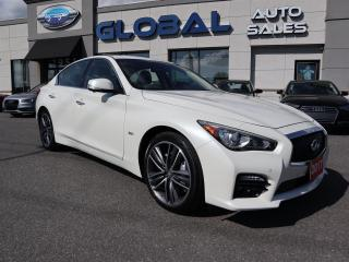 Used 2017 Infiniti Q50 3.0t SPORT AWD VERY LOW MILEAGE. for sale in Ottawa, ON