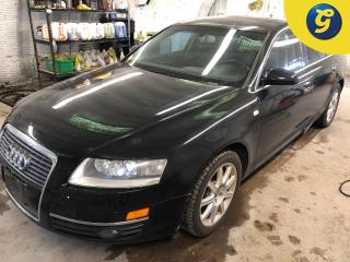 Used 2005 Audi A6 A6 * Quattro * Auto****AS IS SPECIAL******* Power sunroof * Leather interior * 17 Inch alloy rims * Tinted windows * Dual climate control with rear ve for sale in Cambridge, ON