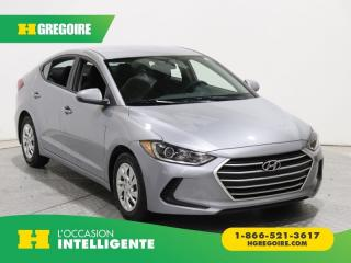 Used 2017 Hyundai Elantra LE A/C GR ELECT for sale in St-Léonard, QC