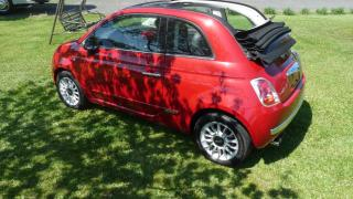 Used 2012 Fiat 500 Décapotable 2 portes Lounge YOUYOU for sale in Charny, QC