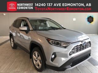 New 2019 Toyota RAV4 Hybrid Limited for sale in Edmonton, AB