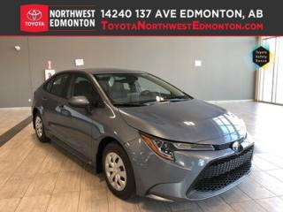 New 2020 Toyota Corolla L CVT for sale in Edmonton, AB