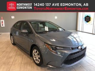 New 2020 Toyota Corolla LE CVT for sale in Edmonton, AB