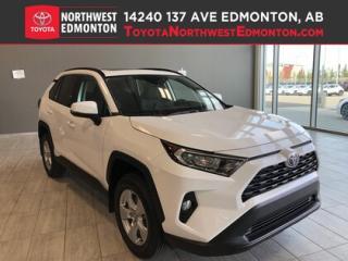 New 2019 Toyota RAV4 AWD XLE for sale in Edmonton, AB