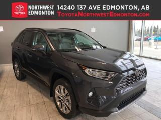 New 2019 Toyota RAV4 AWD LIMITED for sale in Edmonton, AB