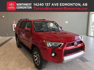 New 2019 Toyota 4Runner SR5 V6 | TRD Off-Road for sale in Edmonton, AB