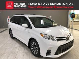 New 2020 Toyota Sienna LE AWD 7-Passenger V6 for sale in Edmonton, AB