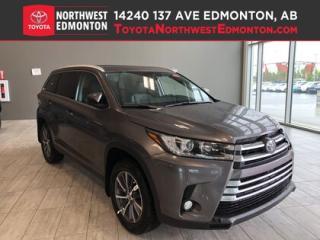 New 2019 Toyota Highlander XLE AWD for sale in Edmonton, AB