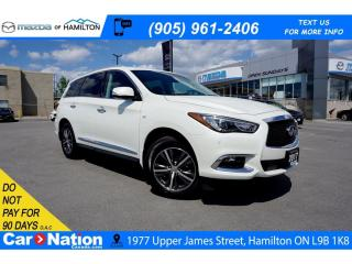 Used 2017 Infiniti QX60 LEATHER | NAV | SUNROOF | TOP VIEW CAMERA for sale in Hamilton, ON