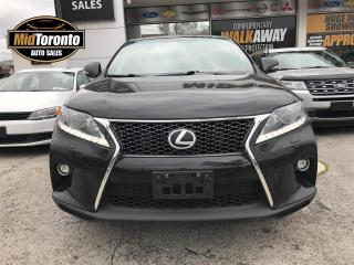 Used 2015 Lexus RX 350 F-Sport for sale in North York, ON