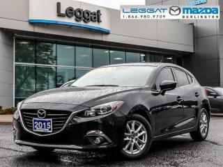 Used 2015 Mazda MAZDA3 GS-6SPEED, MOONROOF, BLUETOOTH, REAR CAMERA for sale in Burlington, ON