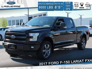 Used 2017 Ford F-150 Lariat Cuir Toit Gps for sale in Victoriaville, QC