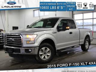 Used 2015 Ford F-150 XLT 4X4 BLUETOOTH for sale in Victoriaville, QC