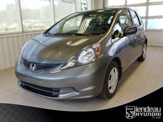 Used 2014 Honda Fit Dx + Grp électrique for sale in Ste-Julie, QC
