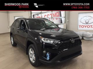 New 2019 Toyota RAV4 XLE for sale in Sherwood Park, AB