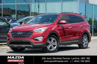 Used 2013 Hyundai Santa Fe Luxury TRACTION INTÉGRALE CUIR TOIT OUVRANT PANORAMIQUE SIÈGE VOLANT CHAUFFANT CAMERA RECUL CRUISE CONTROL for sale in Lachine, QC