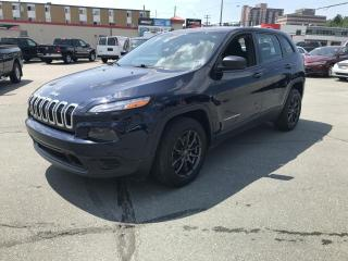 Used 2016 Jeep Cherokee Sport, TRACTION AVANT for sale in Sherbrooke, QC