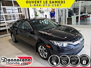 Used 2016 Honda Civic LX ***GARANTIE PROLONGÉE***ÉCRAN TACTIL* for sale in Donnacona, QC
