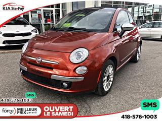 Used 2012 Fiat 500 C Lounge Convertible for sale in Québec, QC