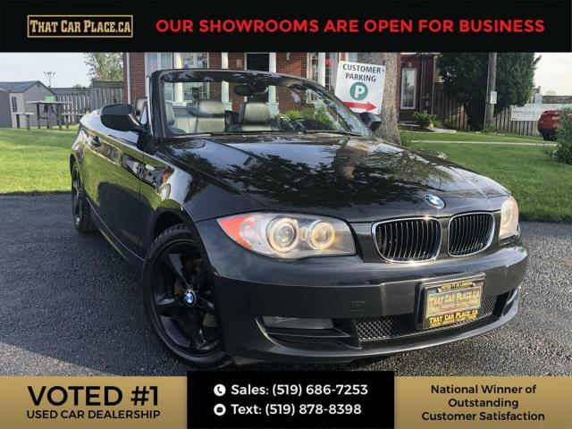 2011 BMW 1 Series 128 128-Convertible-Htd Lthr Seats-New Top-Alloys-New Tires