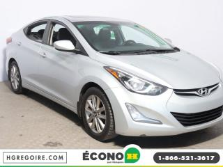 Used 2014 Hyundai Elantra GLS A/C TOIT GR for sale in St-Léonard, QC