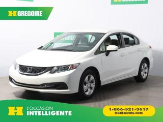 Used 2015 Honda Civic LX A/C GR ELECT CAM for sale in St-Léonard, QC