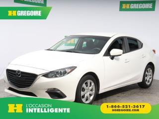 Used 2015 Mazda MAZDA3 GX A/C for sale in St-Léonard, QC