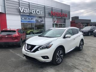 Used 2018 Nissan Murano SL AWD for sale in Val-D'or, QC