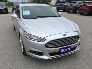 Used 2013 Ford Fusion Titanium | AWD | Local Trade | Bluetooth for sale in Harriston, ON
